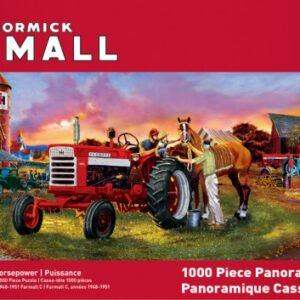 McCormcik Farmall - Horsepower 1000 Piece Panoramic Puzzle - Masterpieces