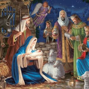 Miracle in Bethlehem 1000 Piece Puzzle - Cobble Hill
