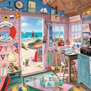 My Haven No 7 - The Beach Hut 1000 Piece Puzzle - Ravensburger