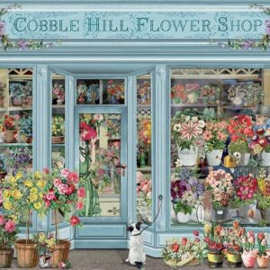 Parisian Flowers 1000 Piece Jigsaw Puzzle - Cobble Hill