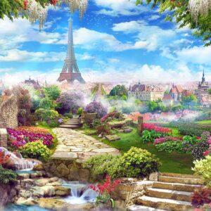 Parisian Gardens 1000 Piece Jigsaw Puzzle - Funbox