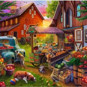 Pick Up and Produce - Bells Farm 500 XL Piece Puzzle - Holdson