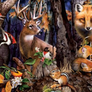 Realtree - Forest Gathering 1000 Piece Jigsaw Puzzle - Masterpieces