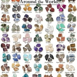 Rocks and Gemstones from Around the World 1000 Piece Puzzle - Masterpieces