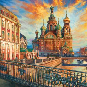 Saint Petersburg 1500 Piece Jigsaw Puzzle - Educa