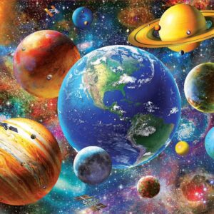 Solar System 500 Piece Puzzle - Educa