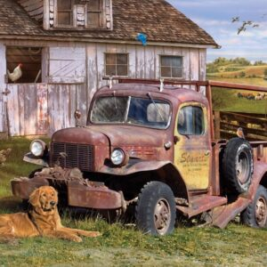 Summer Truck 1000 Piece Jigsaw Puzzle - Cobble Hill