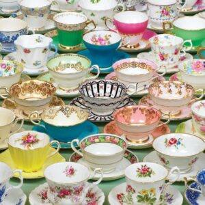 Teacups 1000 Piece Jigsaw Puzzle - Cobble Hill