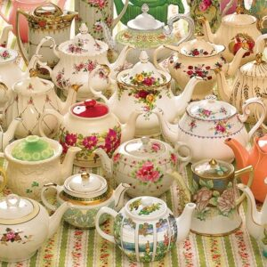 Teapots Too 1000 Piece Jigsaw Puzzle - Cobble Hill