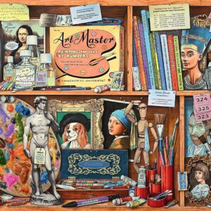 The Artist's Cabinet 1000 Piece Jigsaw Puzzle - Ravensburger