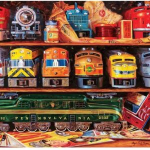 Well Stocked Shelves 2000 Piece Jigsaw Puzzle - Masterpieces