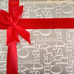 Wrapping Paper - Silver Christmas