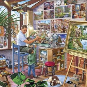A Work of Art 500 XL Piece Puzzle - Gibsons