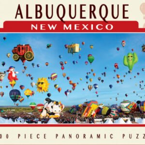 Albuquerque New Mexico 1000 Piece Panoramic Puzzle - Masterpieces