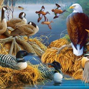 Audubon - Lakelife 1000 Piece Puzzle - Masterpieces
