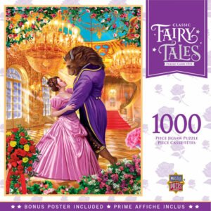 Classic Fairy Tales - Beauty and the Beast 1000 Piece Puzzle - Masterpieces