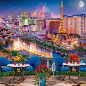 Color Scapes - Las Vegas Living 1000 Piece Puzzle - Masterpieces