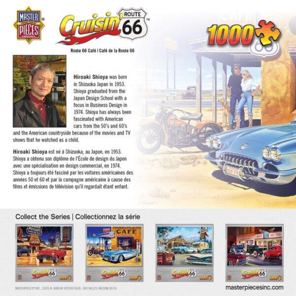 Cruisin Route 66 1000 Piece Puzzle - Masterpieces