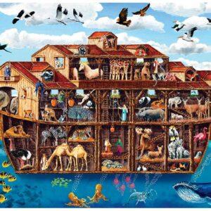 Cutaway - Noah's Ark 1000 Piece Ez Grip Puzzle - Masterpieces
