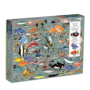 Deep Dive 1000 Piece Jigsaw Puzzle - Galison