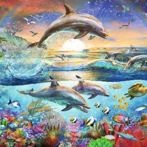 Dolphin Paradise 300 Piece Puzzle - Ravensburger