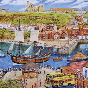 Endeavour Whitby 1000 Piece Jigsaw Puzzle - Gibsons