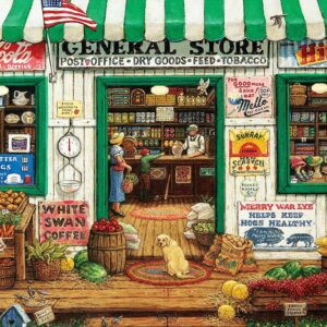 Ez Grip - General Store 1000 Larger Piece Puzzle - Masterpieces