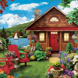 Ez Grip - Perfect Summer 1000 Larger Piece Puzzle - Masterpieces