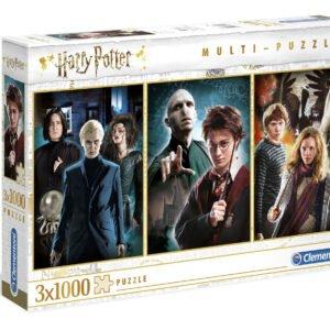 Harry Potter 3 x 1000 Piece Puzzle Set - Clementoni