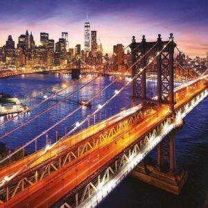 Manhattan at Sunset 3000 Piece Puzzle - Educa