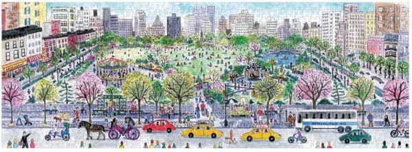 Michael Storrings - Cityscape Panoramic Puzzle 1000 Piece - Galison