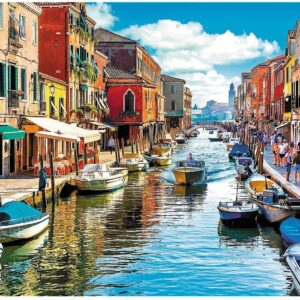 Murano Island, Venice 2000 Piece Puzzle - Trefl