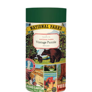 National Parks 1000 Piece Puzzle - Cavallini & Co