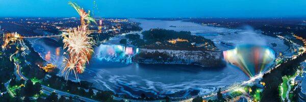 Niagara falls 1000 Piece Panoramic Puzzle - Masterpieces