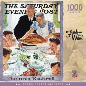 Norman Rockwell - Freedom From Want 1000 Piece Puzzle - Masterpieces