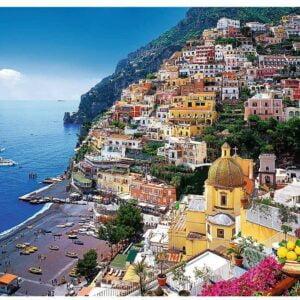 Positano Italy 500 Piece Puzzle - Trefl