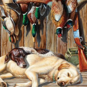 Realtree - All Tuckered Out 1000 Piece Puzzle - Masterpieces