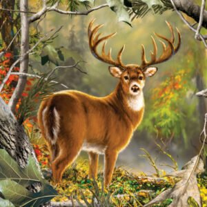 Realtree - Back Country Buck 1000 Piece Puzzle - Masterpieces