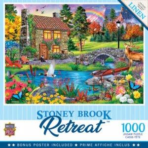 Retreat - Stoney Brook Cottage 1000 Piece Puzzle - Masterpieces