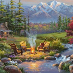Scenic Overlook 500 Large Format Puzzle - Ravensburger