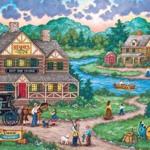 Signature Collection - Adirondack anglers 2000 Piece Puzzle - Masterpieces