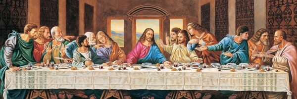 The Last Supper 1000 Piece Panoramic Puzzle - Masterpieces