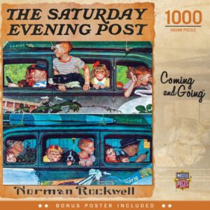 The Saturday Evening Post - Coming and Going 1000 Piece Puzzle - Masterpieces