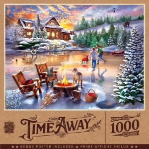 Time Away - An Evening Skate 1000 Piece Puzzle - Masterpieces