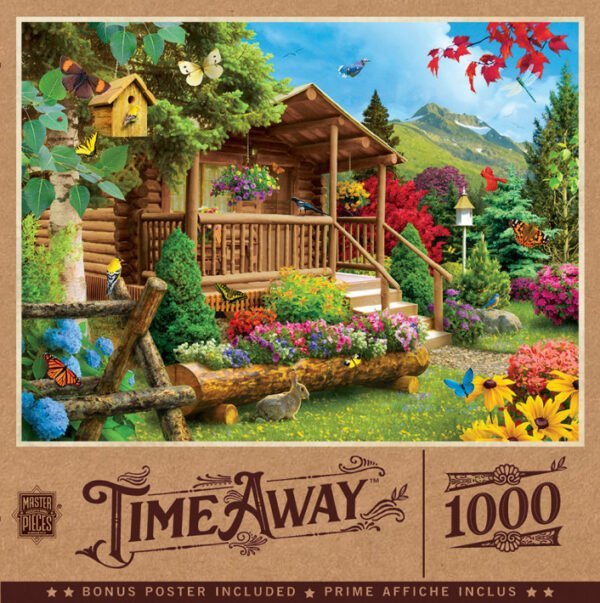 TimeAway - Summerscape 1000 Piece Puzzle - Masterpieces