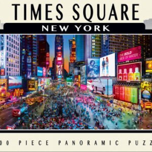 Times Square New York 1000 piece Panoramic Puzzle - Masterpieces