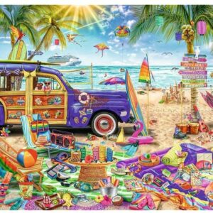 Tropical Holidays 2000 Piece Puzzle - Trefl