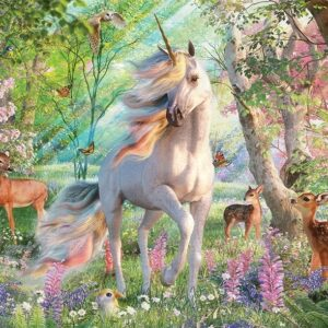 Unicorn and Friends 2000 Piece Jigsaw Puzzle - Cobble Hill