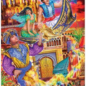 Classic Fairy Tales - Aladdin 1000 Piece Puzzle - Masterpieces