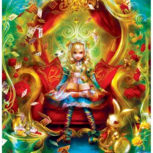 Classic Fairy Tales Alice in Wonderland Tea Party Time 1000 Pieces - Masterpieces